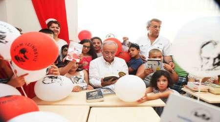 İzmir-Bayraklı'da 12.kütüphane hizmete girdi